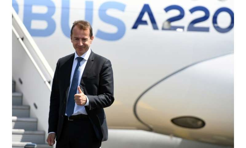 Guillaume Faury, pictured, will replace Tom Enders as chief executive of Airbus