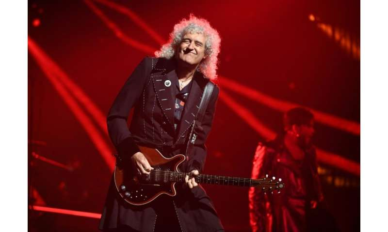 Guitarist Brian May of Queen also holds a doctorate in astrophysics, and is paying musical tribute to a NASA spacecraft that wil
