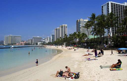 Hawaii poised to ban sale of some sunscreens that harm coral