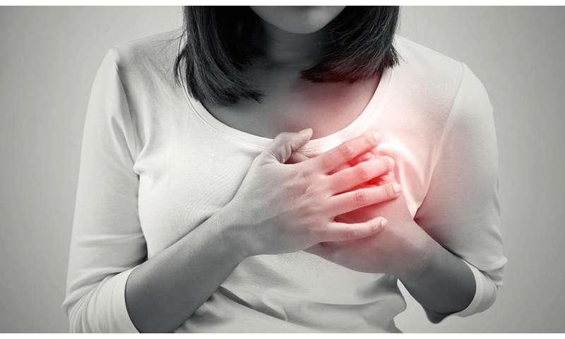 Heart attack symptoms often misinterpreted in younger women