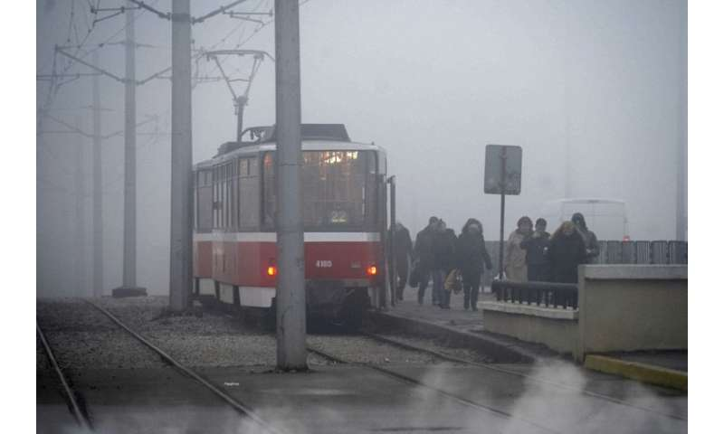 """Heavy smog shrouds Bulgarian commuters and the EU now wants to be """"carbon neutral"""" by 2050"""