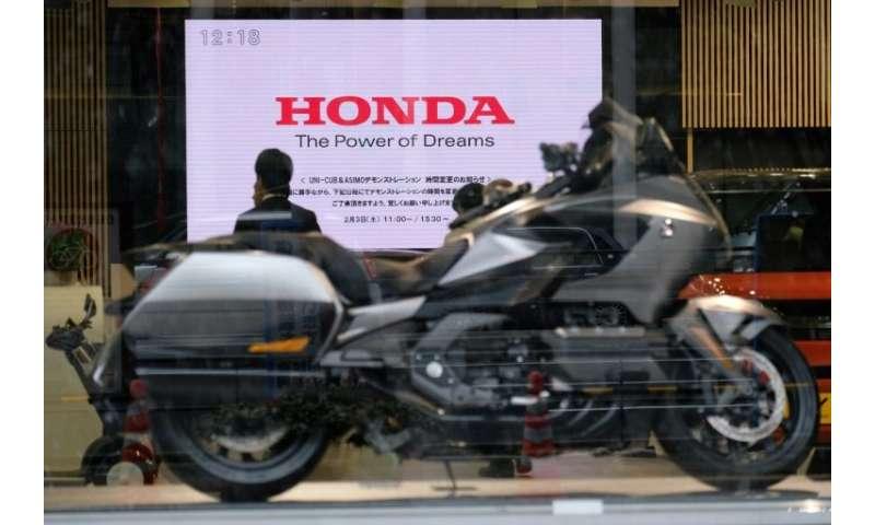 Honda nearly doubled its net profit forecast