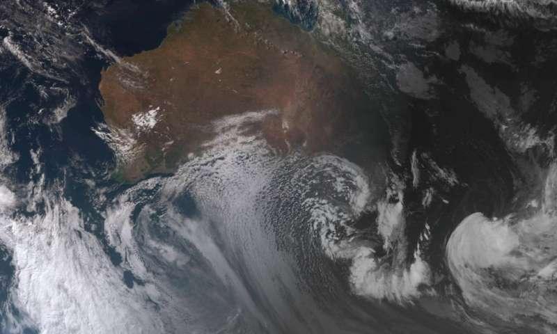 How a complex low-pressure system sent temperatures plummeting