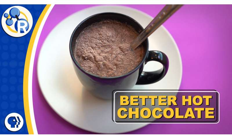 How chemistry can improve bargain hot cocoa (video)