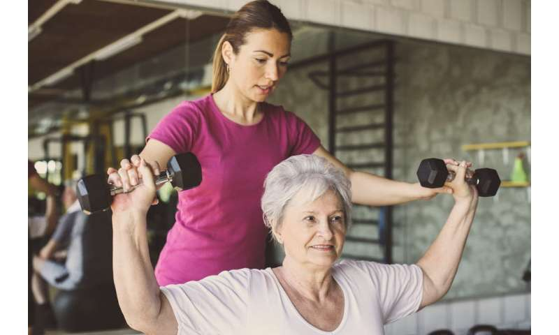 How much physical activity is enough in older age?