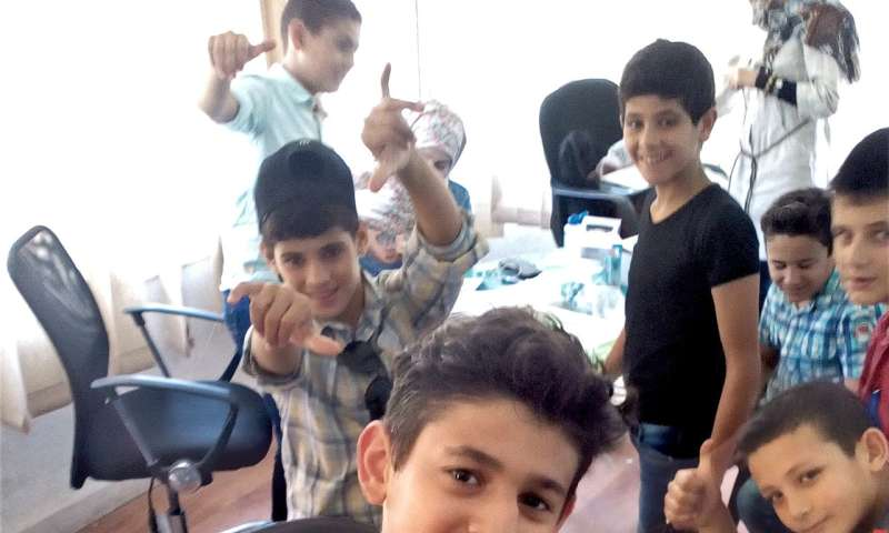 Humanitarian intervention reduces 'stress hormone' in war-affected youth