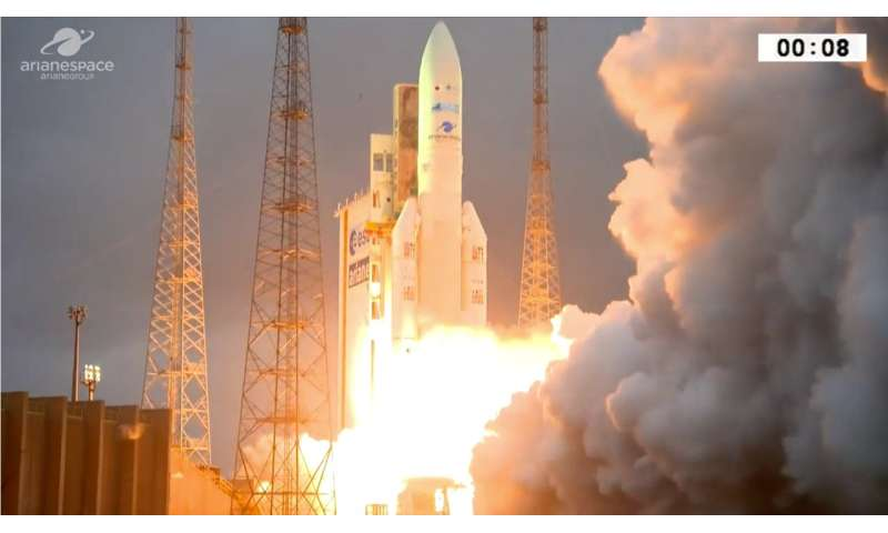 Image: Ariane 5's second launch of 2018