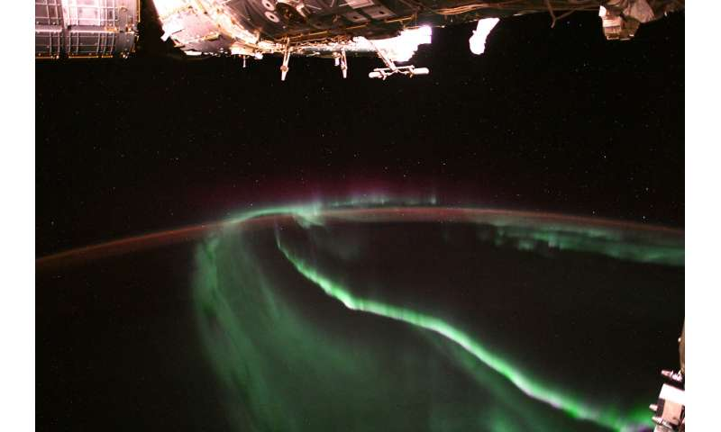 Image: Aurora observed from orbit