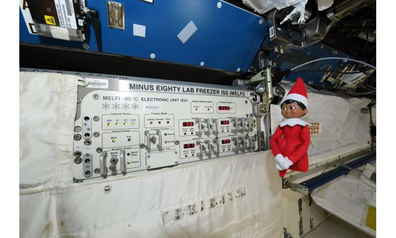 Image: Elf on the ISS