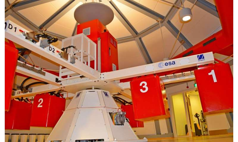 Image: ESA centrifuge