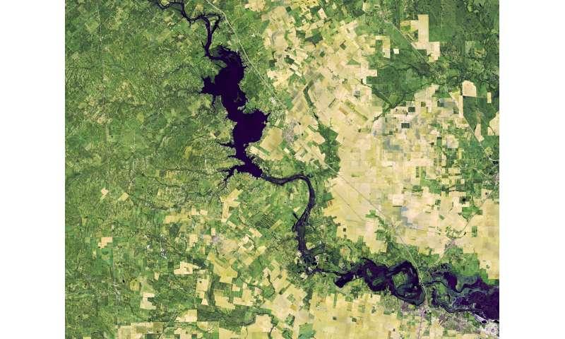 Image: Flooding along the Nueces River