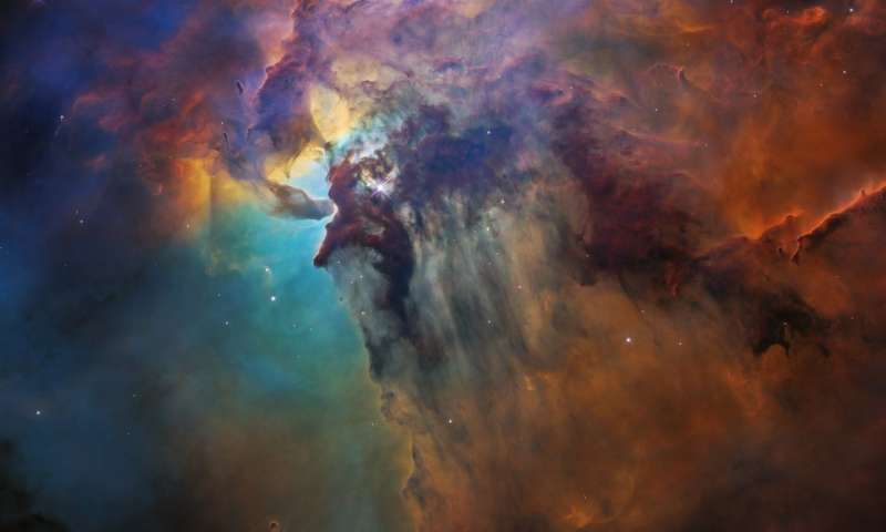Image: Lagoon Nebula (visible-light view)