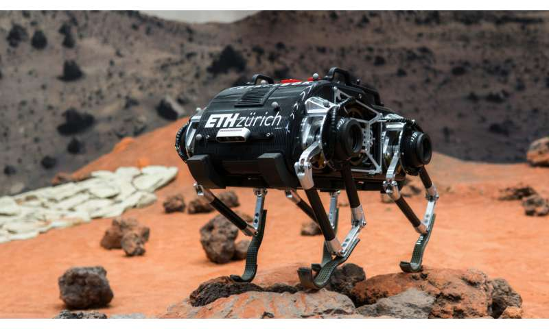 Image: Robotic hopper