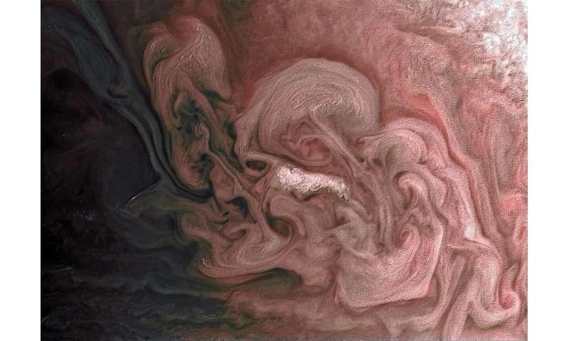 Image: Rose-colored Jupiter