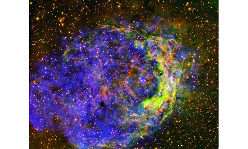 Image: Star-circling bubble of gas