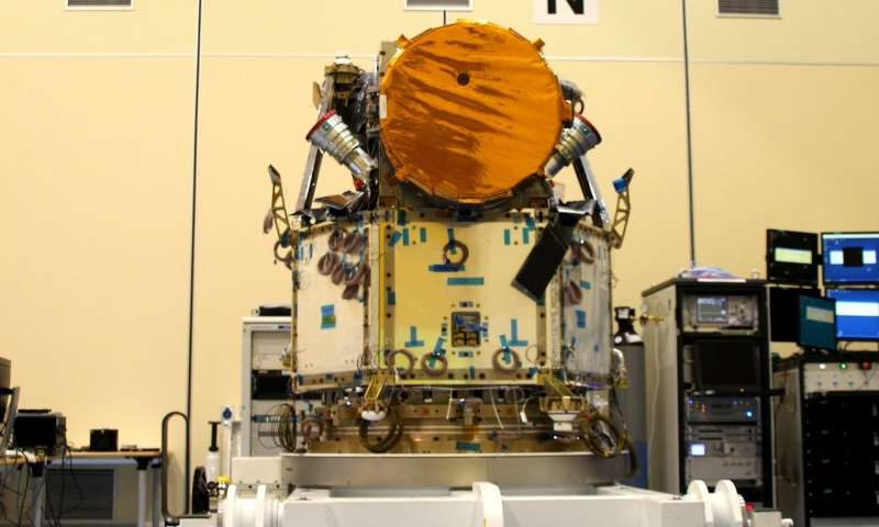 Image: The integrated Cheops satellite