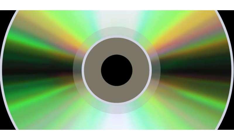 Increasing CD and microchip capacity 100-fold