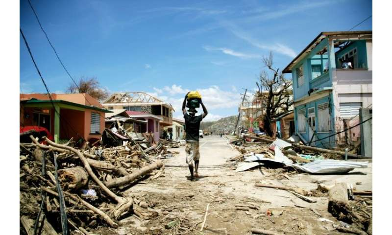 Increasingly frequent extreme weather could harm places poorly equipped to handle it. Category 5 Hurricane Maria devastated part