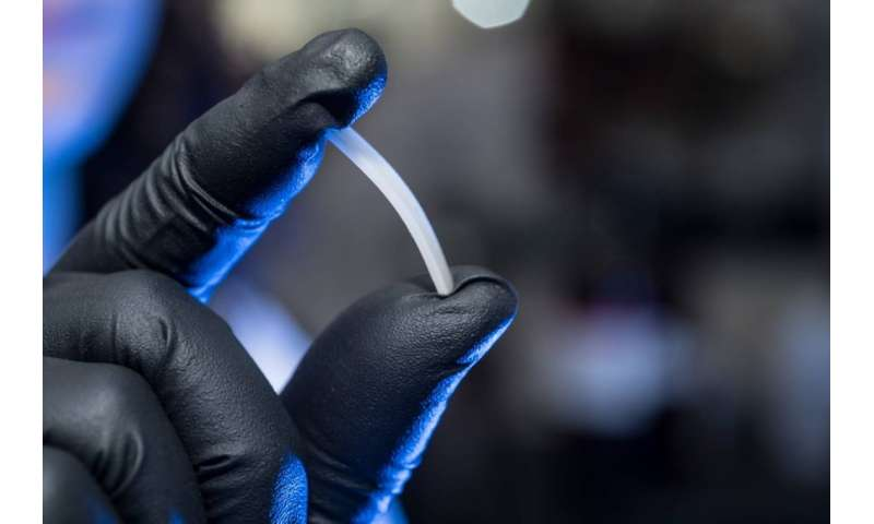 'Infinitely' recyclable polymer shows practical properties of plastics