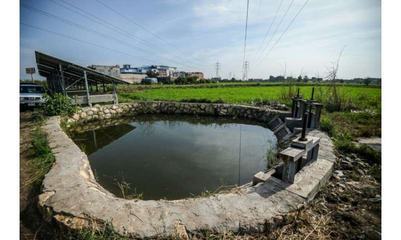 In Kafr al-Dawar in the delta's north, Egypt's irrigation ministry and the UN are working on eco-friendly techniques