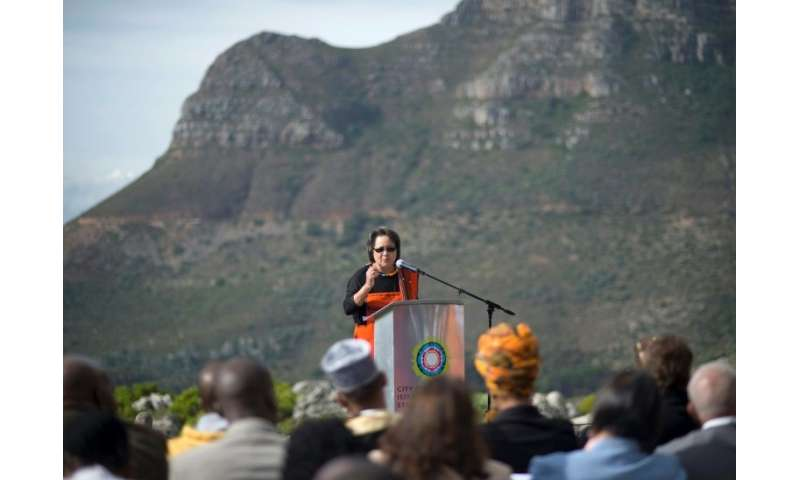 In May last year, Cape Town mayor Patricia de Lille led an inter-faith gathering on Table Mountain to pray for rain