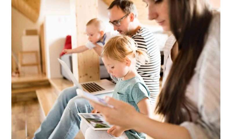Internet use at home soars to more than 17 hours per week