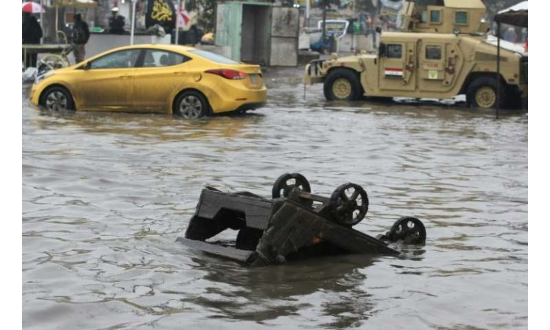 Iraq is one of the hottest countries on earth but when heavy rains do hit they can result in casualties and widespread damage be