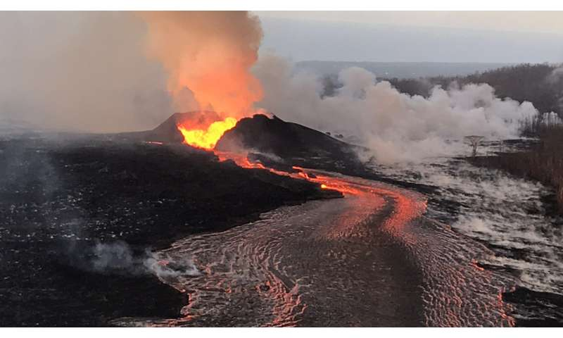 Is there a new volcano on Hawaii?