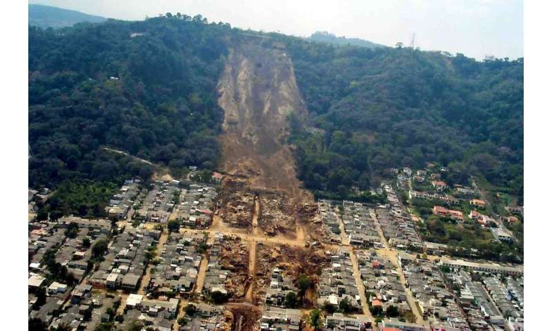 IU researchers develop model for predicting landslides caused by earthquakes