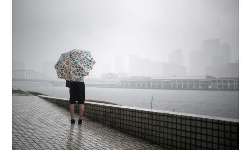 Japan is bracing for the imminent arrival of Typhoon Jongdari