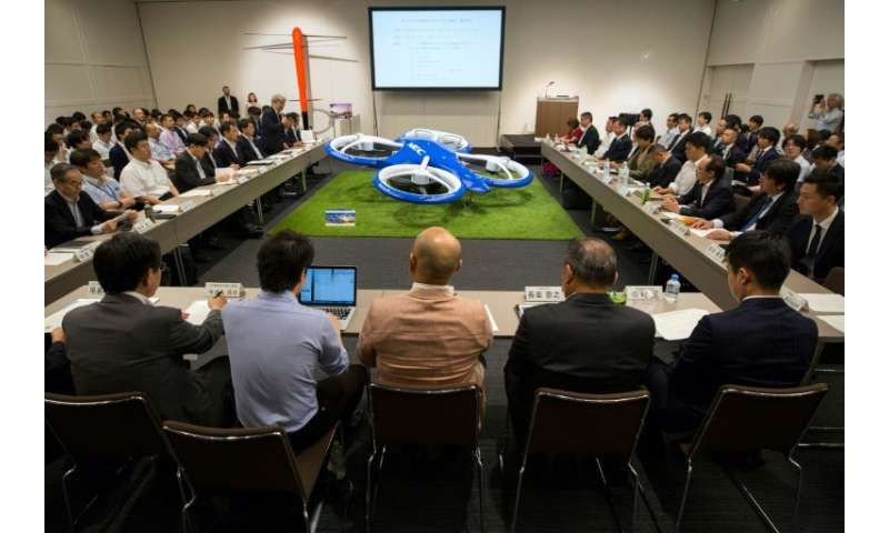 Japan's government hopes the private sector will help make flying cars a reality