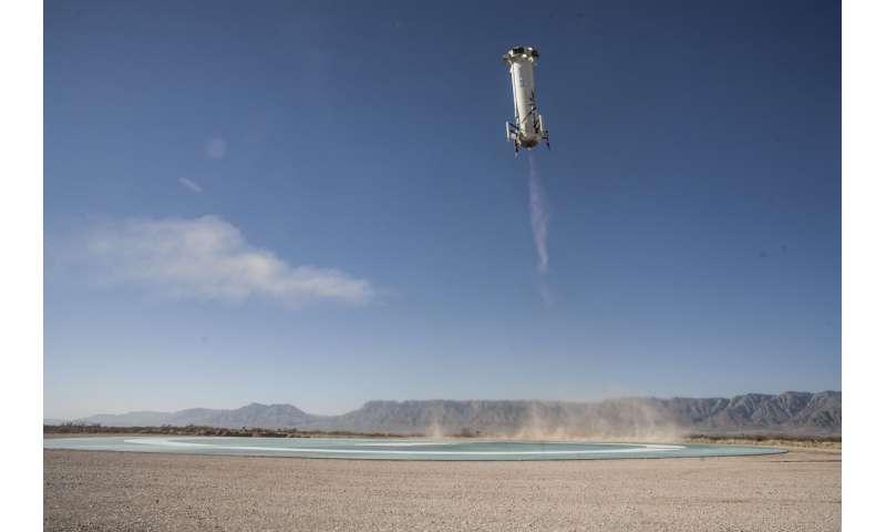Jeff Bezos' Blue Origin launches spacecraft higher than ever