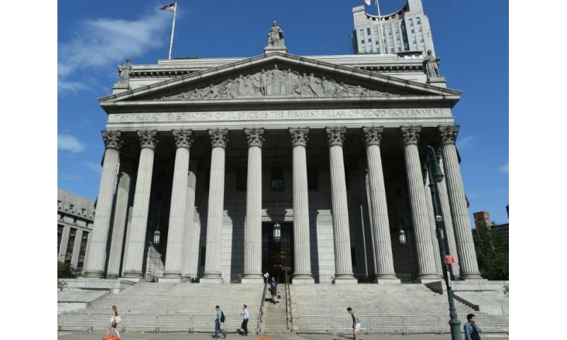 Judge Barry Ostrager of New York's Supreme Court in Manhattan temporarily blocked the planned takeover of Xerox by Japan's Fujif