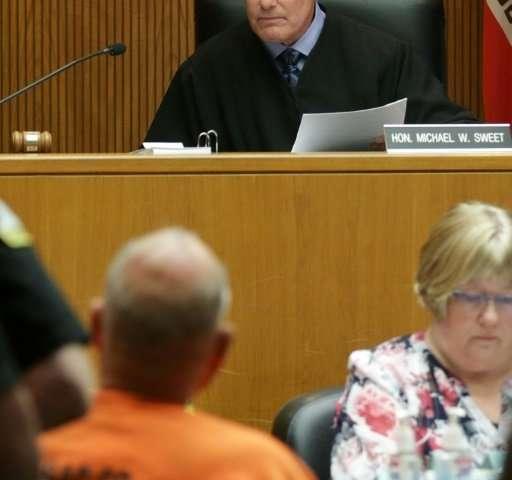"Judge Michael W. Sweet addresses accused 'Golden State Killer"" DeAngelo in court"
