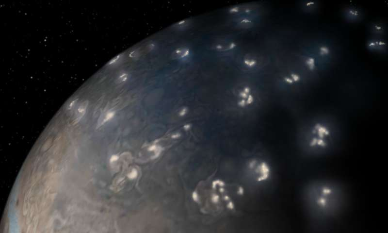 Juno solves 39-year old mystery of Jupiter lightning