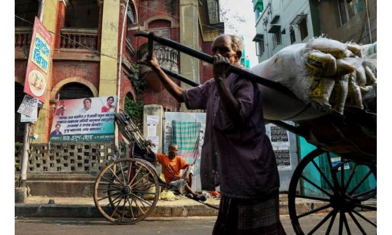 Kolkata is one of the last places on earth where pulled rickshaws still feature in daily life