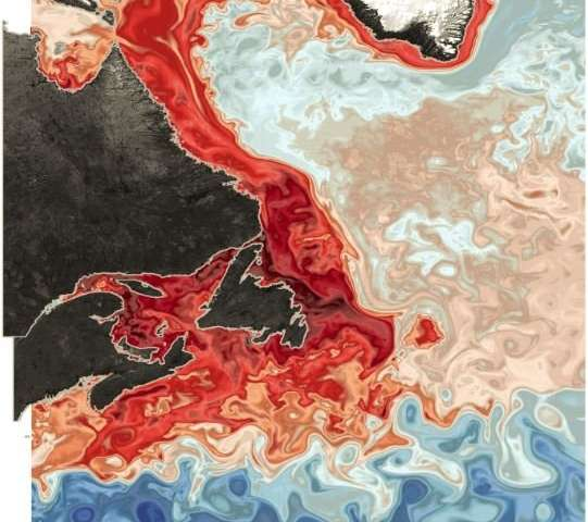 Large-scale shift causing lower-oxygen water to invade Canada's Gulf of St. Lawrence
