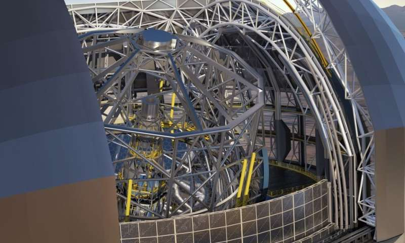 Latest step toward world's largest telescope that will observe 'first stars and galaxies ever formed'