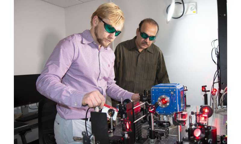 Levitating particles could lift nuclear detective work