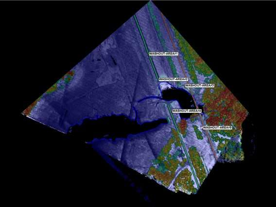 Lidar accelerates hurricane recovery in the Carolinas