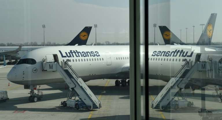 Lufthansa is cancelling more than half its scheduled flights