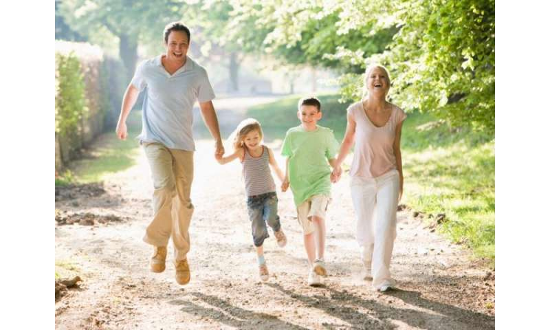Make exercise a family affair. your kids will thank you.