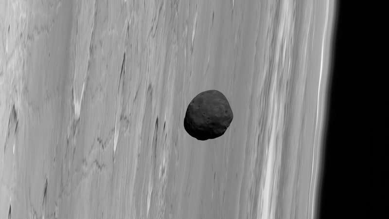 Martian moon may have come from impact on home planet, new study suggests