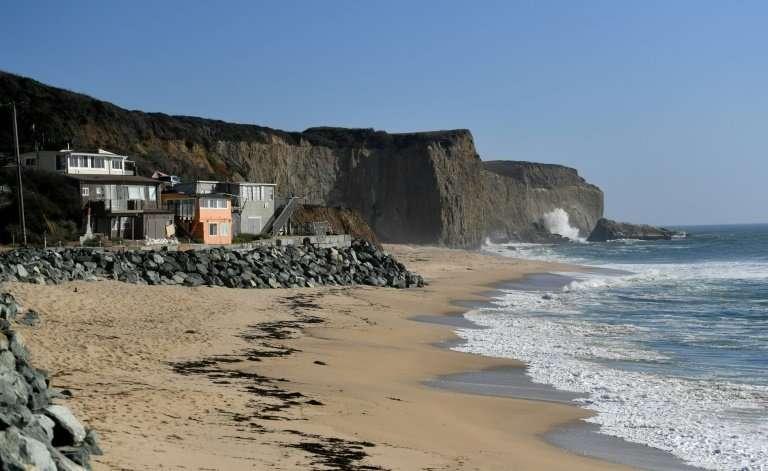 Martin's Beach at Half Moon Bay, California was bought by tech billionaire Vinod Khosla a decade ago—since, he has been limiting