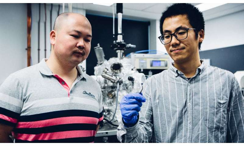 Material to help transition to clean hydrogen fuel
