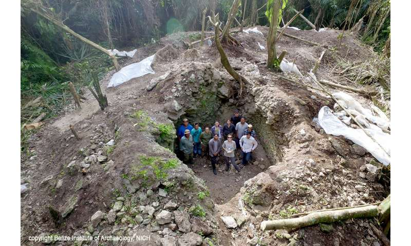 Maya rituals unearthed