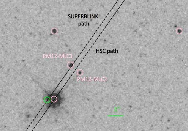 Measuring white dwarf masses with gravitational lensing
