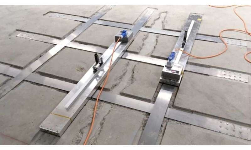 Memory-steel -- A new material for the strengthening of buildings