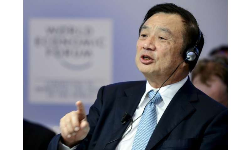 Meng Wanzhou is the daughter of Huawei founder and CEO Ren Zhengfei (pictured), a former Chinese People's Liberation Army engine