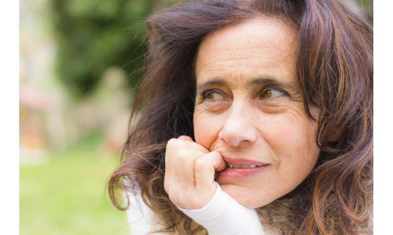 Menopausal mood swings can signal more serious mental illness